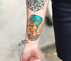 Nefertiti Tattoo By Andrea Morales Photo 26428