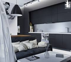 ... Monochromatic Color Schemes. Designs by Style: Artistic Monochrome  Apartment - Artistic