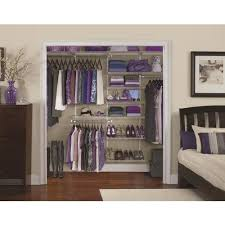 10 ft x 12 in white wire closet kit