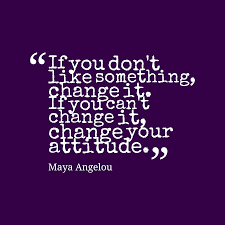 Maya Angelou Quote About Change