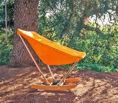 evrgrn campfire fold out rocking chair enlarge image