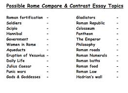 possible comparison essay topics how to write a ulogy possible comparison essay topics