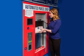 Usps Vending Machine Amazing USPS Automated Parcel Drops Ease Shipping Returns 48st Century