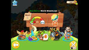 Angry Birds Epic Winter Wonderland Level 1 Walkthrough