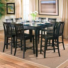 Square Dining Room Table With 8 Chairs Dining Dining Room The Turin Square Clear Glass Large Square Glass