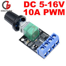 5V 12V 10A <b>PWM DC Motor Speed Controller</b> Governor Stepless ...