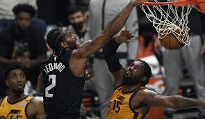 NBA Playoffs: L.A. Clippers machen kurzen Prozess mit den Utah Jazz - Kawhi  Leonard mit Monsterdunk