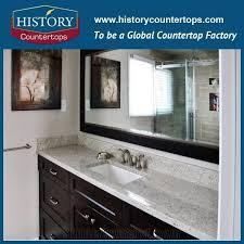 hot diffe type natural stone india material white granite for bathroom countertop custom vanity top solid surface granite bathroom tops history