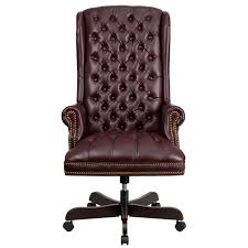 marvelous tufted leather executive office chair high back traditional tufted burdy leather executive swivel
