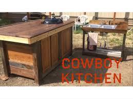 Outdoor Kitchen Sink Station Cowboy Kitchen Outdoor Kitchen Grill Station Youtube