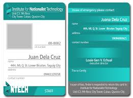 School Id Template 25 Images Of Identification Card Template Microsoft Word Leseriail Com
