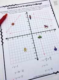 looking for a fun and unique way to practice graphing linear equations this december this