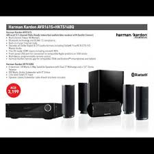 harman kardon home theatre. avr161s+hkts16 pkg harman kardon home theatre d