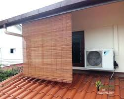 bamboo roll up blinds outdoor exterior bamboo shade full size of bamboo curtains roll up blinds