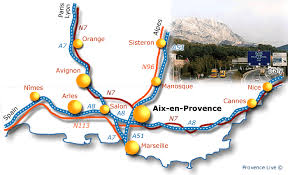 practical information aix en provence lodging travelling Maps Aix En Provence modern traffic whisks briskly by on its way from nice, marseille, paris, and the alps, hugging the ancient roman ways favoured by the early carriageways map aix en provence france