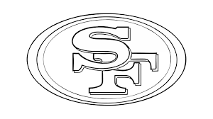 how to draw the san francisco 49ers logo