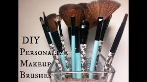 diy personalized makeup brushes you