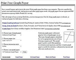 Graph Online Math Printable Graph Papers And Grids Graph