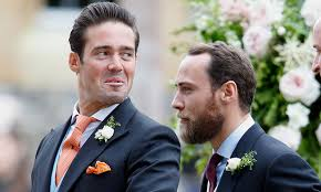 Spencer Matthews shares never-before-seen picture of James Middleton from  his wedding | HELLO!