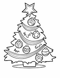 Printable Christmas Tree Free Christmas Tree Coloring Page Printable Christmas Tree