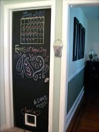 Chalkboard In Kitchen Watch More Like Chalkboard Painted On Door
