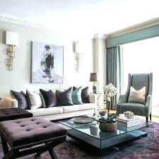 plum living room gray and purple