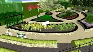 Small Picture Virtual walk throught didactic garden HD Gabion Garden Design