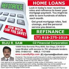 Mortgage Quote Extraordinary Riju R Sam C48 Financial Corporation Get Quote Mortgage Brokers
