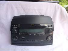toyota cd radio 04 09 toyota sienna radio 6 cd mp3 face plate 11810 61552