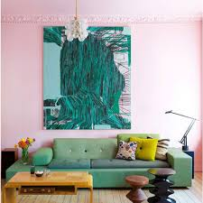 Teal And Green Living Room Colour Crush Emerald Green With Pink Sophie Robinson