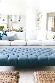 oversized tufted ottoman new build living room house of jade interiors blog large tufted leather ottoman coffee table