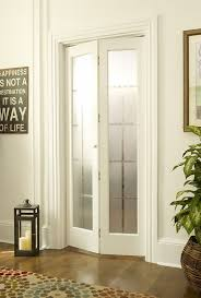 glass bifold doors colonial frosted door in unfinished or prefinished wood