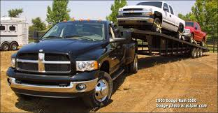 2018 Ram 2500 Towing Chart 2003 2009 Dodge Ram 2500 And 3500 Heavy Duty