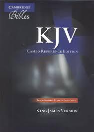 Cambridge Cameo Reference Bible Kj456