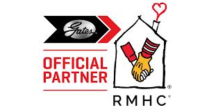 gates corporation logo. gates corporation partners with ronald mcdonald house charities to raise $150,000 logo