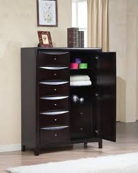 sleek bedroom furniture. modern and sleek chest furniture in black color with different drawer shapes for file storage bedroom