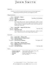 Teenage Resume Template Classy Resume Format Examples 48 Page 48 Resume Format Examples