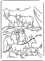 Dieren In De Ark Bijbel Kleurplaten Oude Testament
