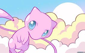 mew desktop wallpaper. Fine Mew Mew The Pokemon Images In Clouds HD Wallpaper And Background Photos And Desktop Wallpaper A
