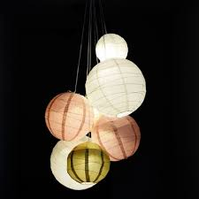 elegant paper lantern chandelier how to do your own wedding light diy uk kmart canada craft