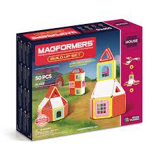Купить магнитный <b>конструктор Magformers</b> 705003 <b>Build</b> Up Set в ...