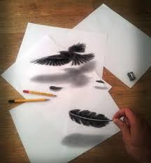 easy 3d paintings on paper easy 3d paintings on paper 3d easy pencil painting 3d drawing