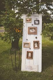 rustic old door wedding signs and decor ideas