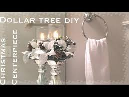 diy dollar tree christmas bling vase glam home decor centerpiece