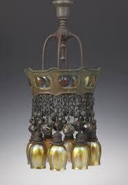 tiffany style pendant light. Tiffany Style Pendant Light Awesome Rare Studios Eight Bronze \u0026 Turtleback Tile Chandelier Of