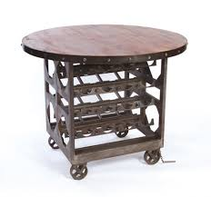 Industrial Counter Height Dining Table Industrial Reclaimed Wood Wine Cellar Counter Height Table Kathy