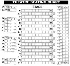 Miller Theater Augusta Seating Chart Seating Chart Helpful Hints Town Theatre