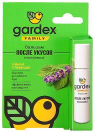 Купить <b>Бальзам Gardex</b> Family <b>после</b> укусов по выгодной цене на ...