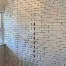how to install faux brick wall