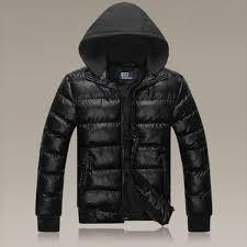 polo ralph lauren men s solid down jacket black